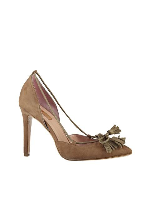 Elle Stiletto Ayakkabı Vizon